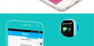 Montre GPS avec bouton alerte